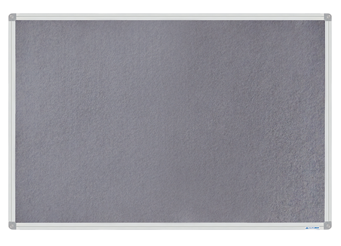 Доска магнитно-текстильная 60x90см алюминиевая рамка BUROMAX BM 0020