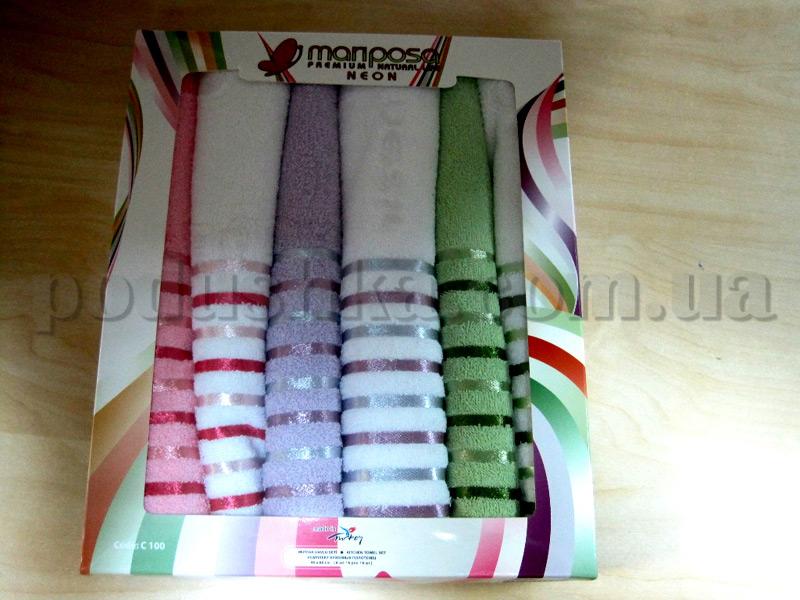 Набор кухонных махровых полотенец Mariposa Neon C100