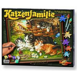 Художественный творческий набор Семья котов