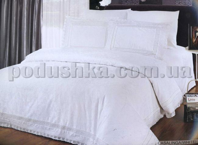 Постельное белье ARYA Casalinga white