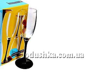Набор Luminarc DOMINO из 6 бокалов для шампанского