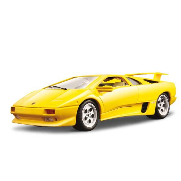 Авто-конструктор - Lamborghini Diablo (1990) (желтый, 1:18)