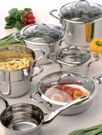 Посуда BergHOFF - набор 12 предметов Tulip   BergHOFF
