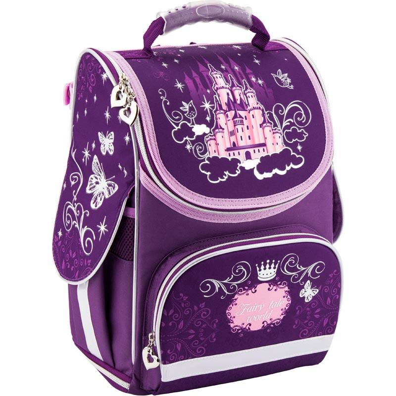 Рюкзак школьный Kite трансформер Fairy tale K18-500S-3 фиолетовый