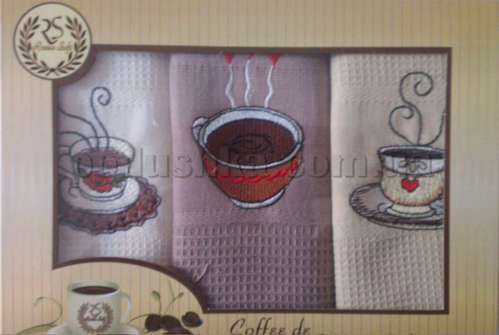 Набор полотенец Romeo soft Coffee De 3шт