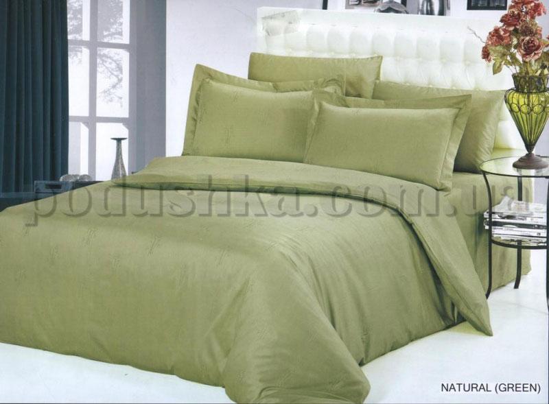 Постельное белье Arya бамбук Natural Green