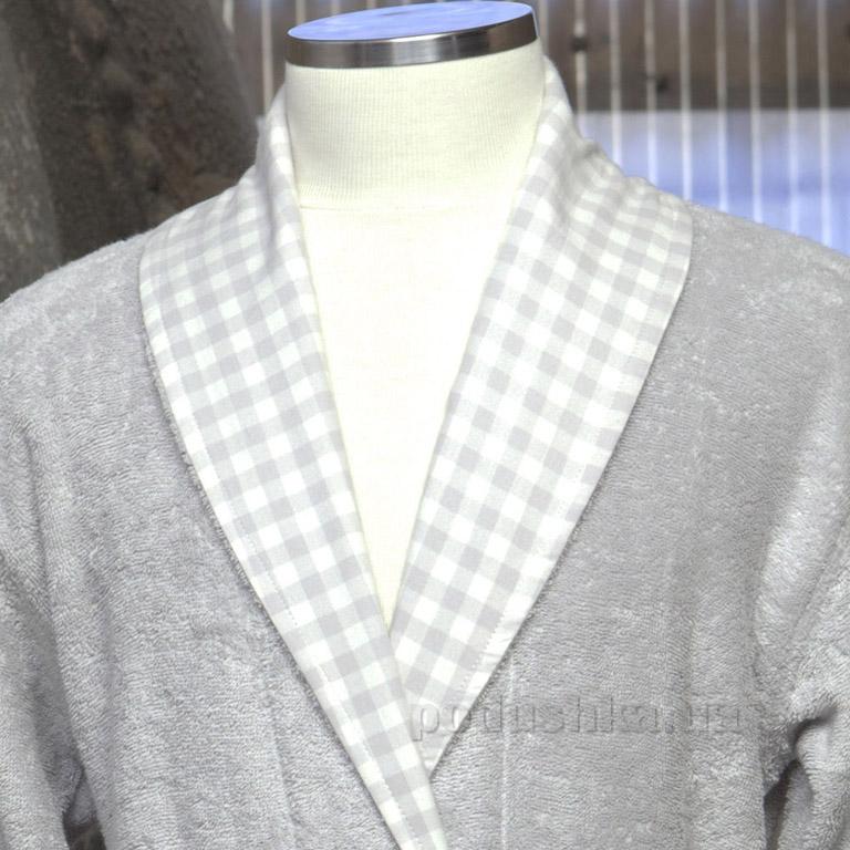 Халат мужской Pavia Ned grey M  Pavia