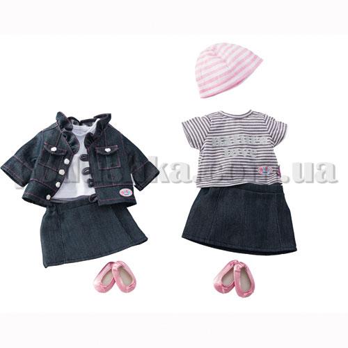 Набор одежды для куклы BABY BORN - Джинсовый Сезон (2 вида)