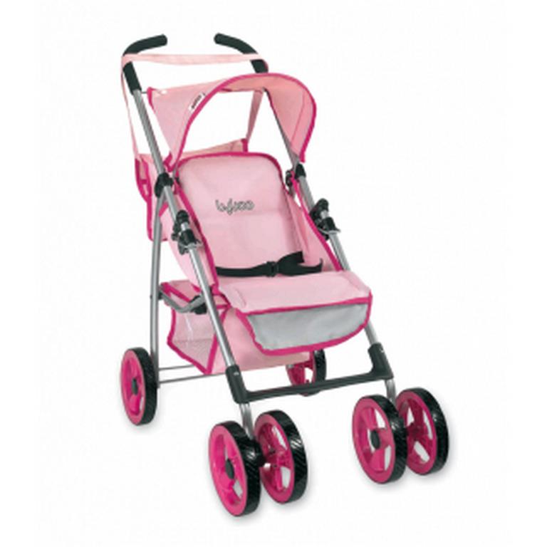Коляска летняя Loko Toys Byboo Pink 97040 28х55х77 см