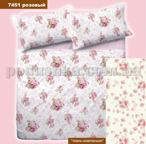 Постельное белье Вилюта 7451 розовый