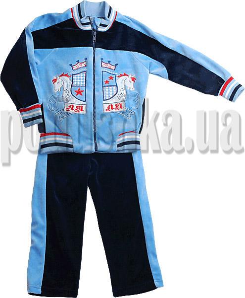 Велюровый костюм для мальчиков Ляля 2ТК102А