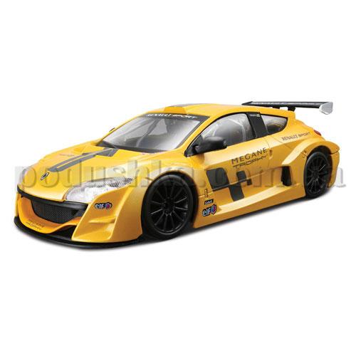 Авто-конструктор - Renault Megane Trophy (желтый металлик, 1:24)