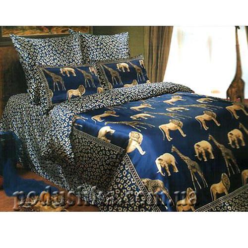 Постельное белье Саванна (синяя), Love You