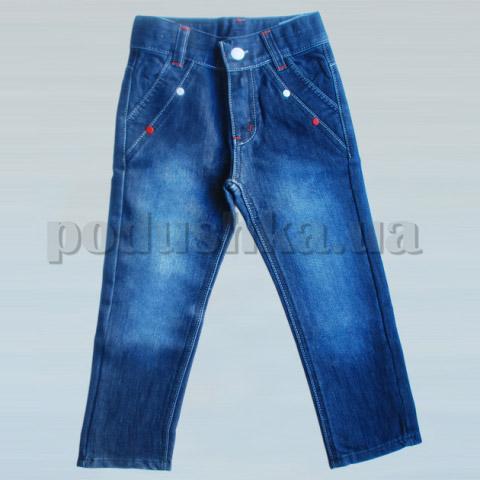 Штаны джинсовые для мальчика Бемби ШР187 джинс