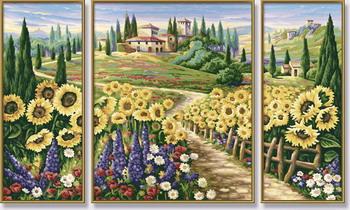 Художественный творческий набор Лето в Тоскане