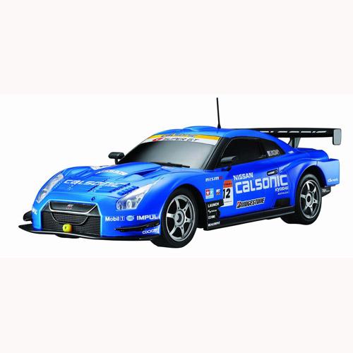 Автомобиль радиоуправляемый - 2008 Nissan GT-R Super GT синий