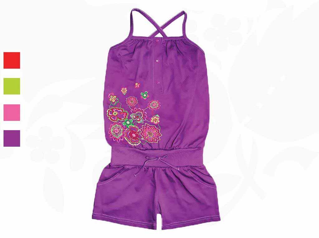 Комбинезон для девочек Фламинго 752-114