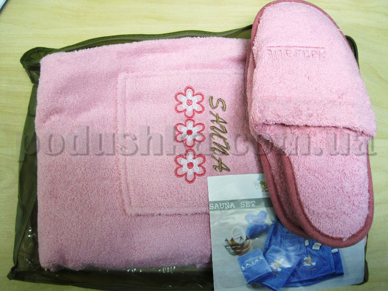 Набор для сауны женский Mariposa розовый Цветок