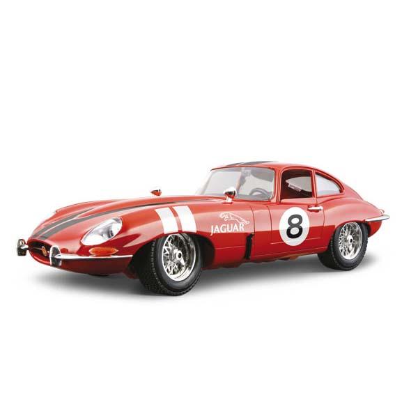 Авто-конструктор - Jaguar E Coupe (1961) (красный, 1:18)