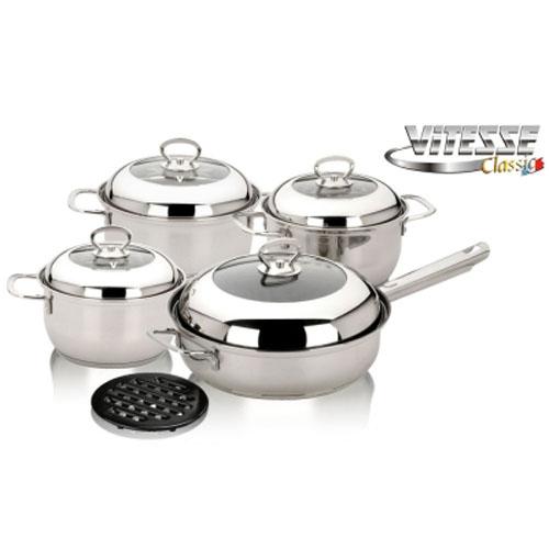 Набор посуды Vitesse VS-7027 9 предметов