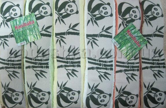 Набор махровых полотенец Hanibaba Bamboo Panda