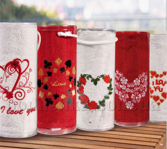 Полотенце махровое Валентин 50х90 см