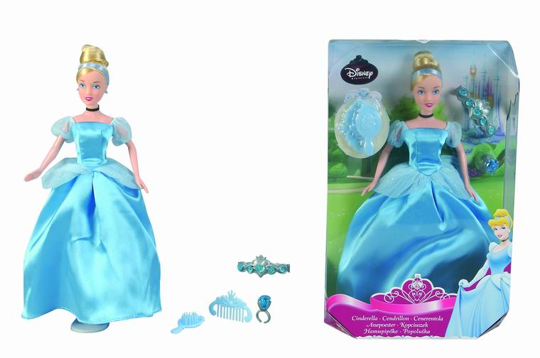 Кукла Золушка с аксессуарами Princess