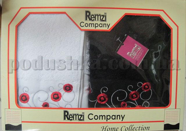 Набор махровых кухонных полотенец Remzi