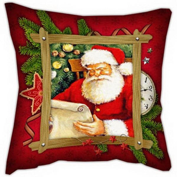 Подушка Санта
