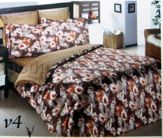 Постельное белье Amante V4 Mariposa шелк-бамбук жаккард Полуторный комплект  Mariposa