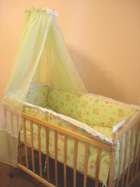 Спальный комплект для детской кроватки БЭМБИ