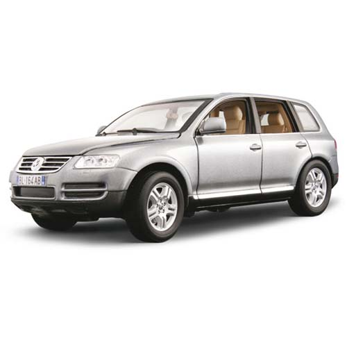 Автомодель - Volkswagen Touareg (серый, 1:18)