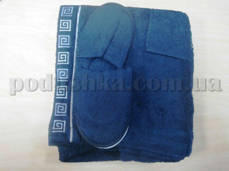Набор для сауны мужской Nusa NS-250 синий