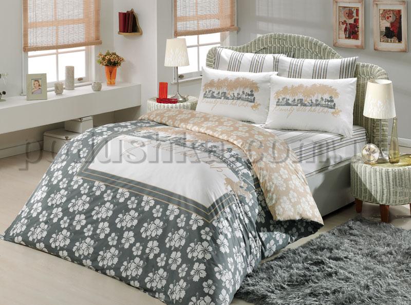 Постельное белье BHPC 001 grey