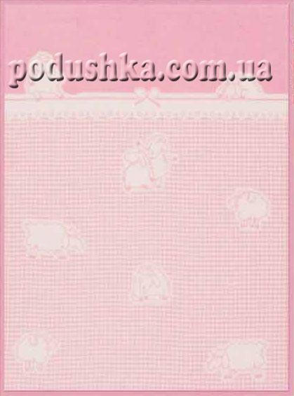 Плед детский Розовые овечки