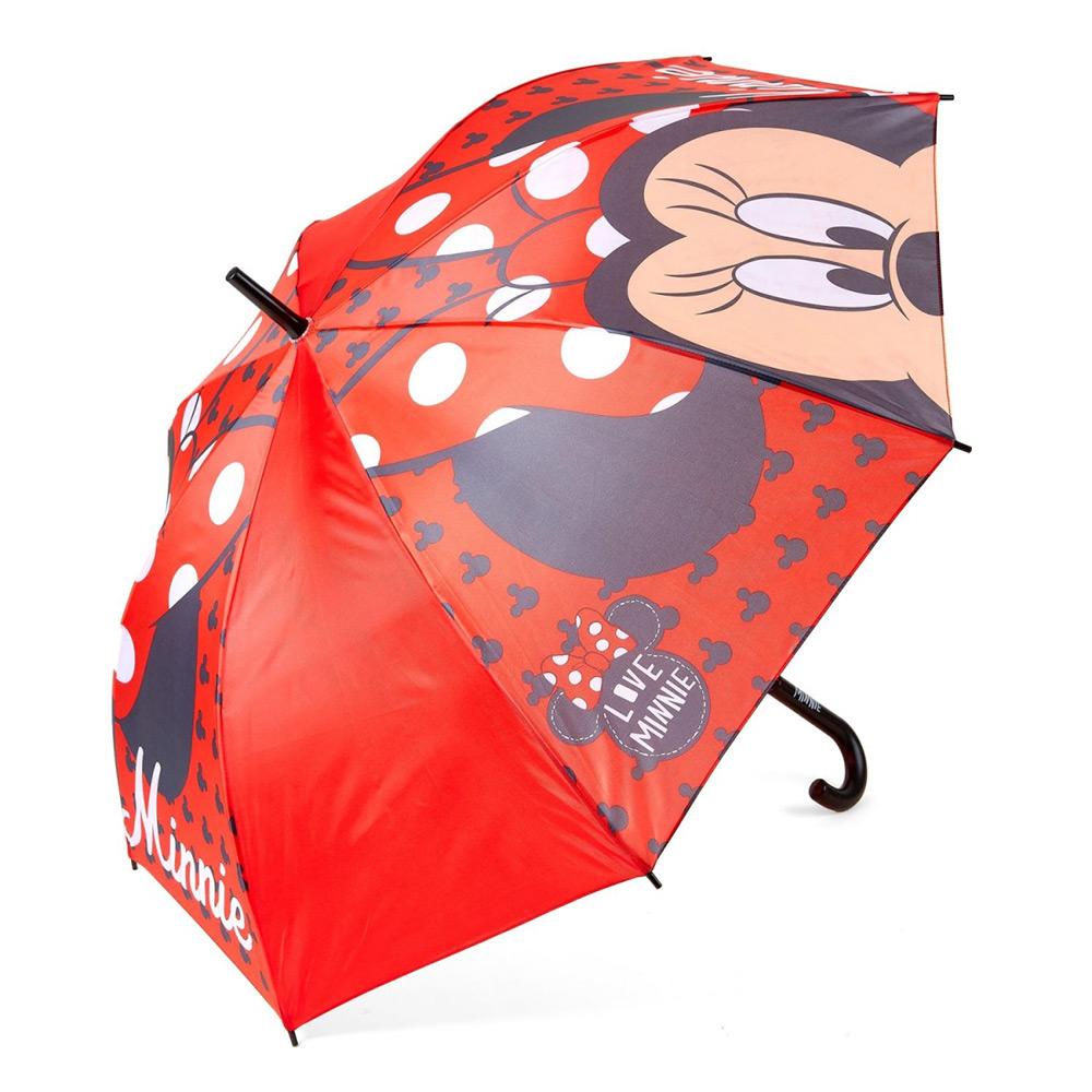 Зонт полуавтомат Минни Маус Disney (Arditex) красный WD9763