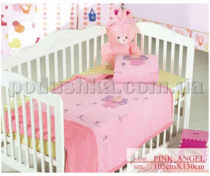 Плед детский Arya Pink Angel