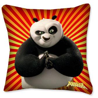 Подушка Панда Кунг Фу