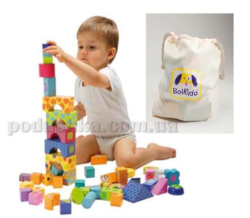 Развивающие кубики Boikido Строитель (50 шт)