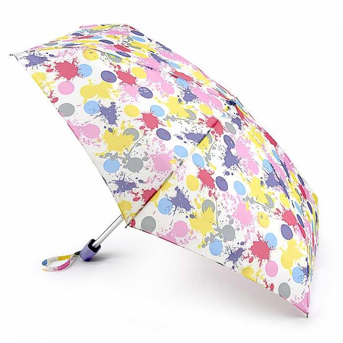 Женский зонт Fulton Tiny-2 L501 Spot The Dot пятна и горошки