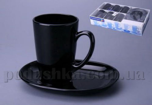 Чайный сервиз Luminarc SWEET LINE Black 12 предметов
