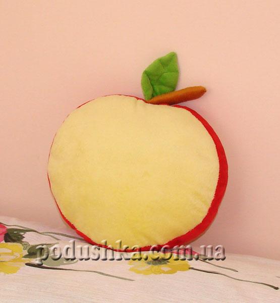 Декоративная подушка-игрушка Яблоко