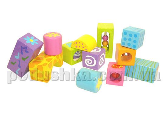 Музыкальные развивающие кубики (12 шт) Boikido