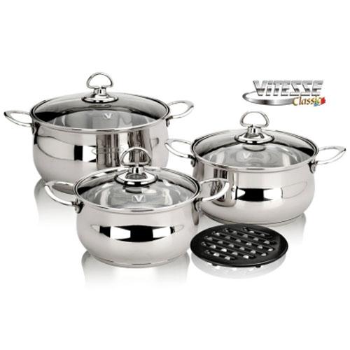 Набор посуды Vitesse VS-7017 7 предметов