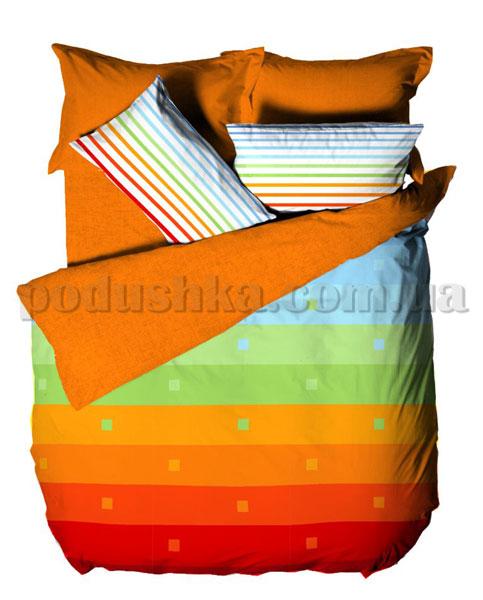 Постельное белье Le Vele Rainbow orange