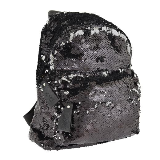 Рюкзак молодежный с пайетками Yes GS-03 Black 557655 черный