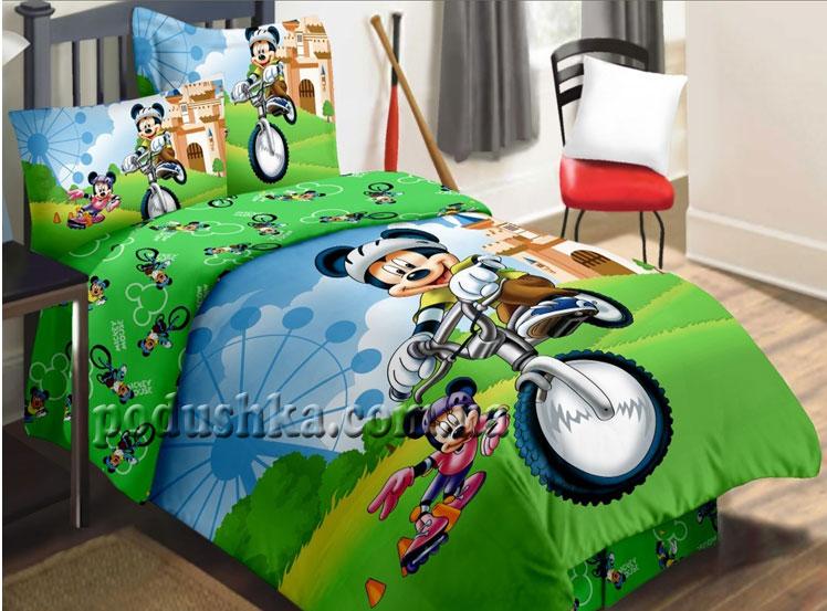 Постельное белье Мышка на велосипеде TD-187
