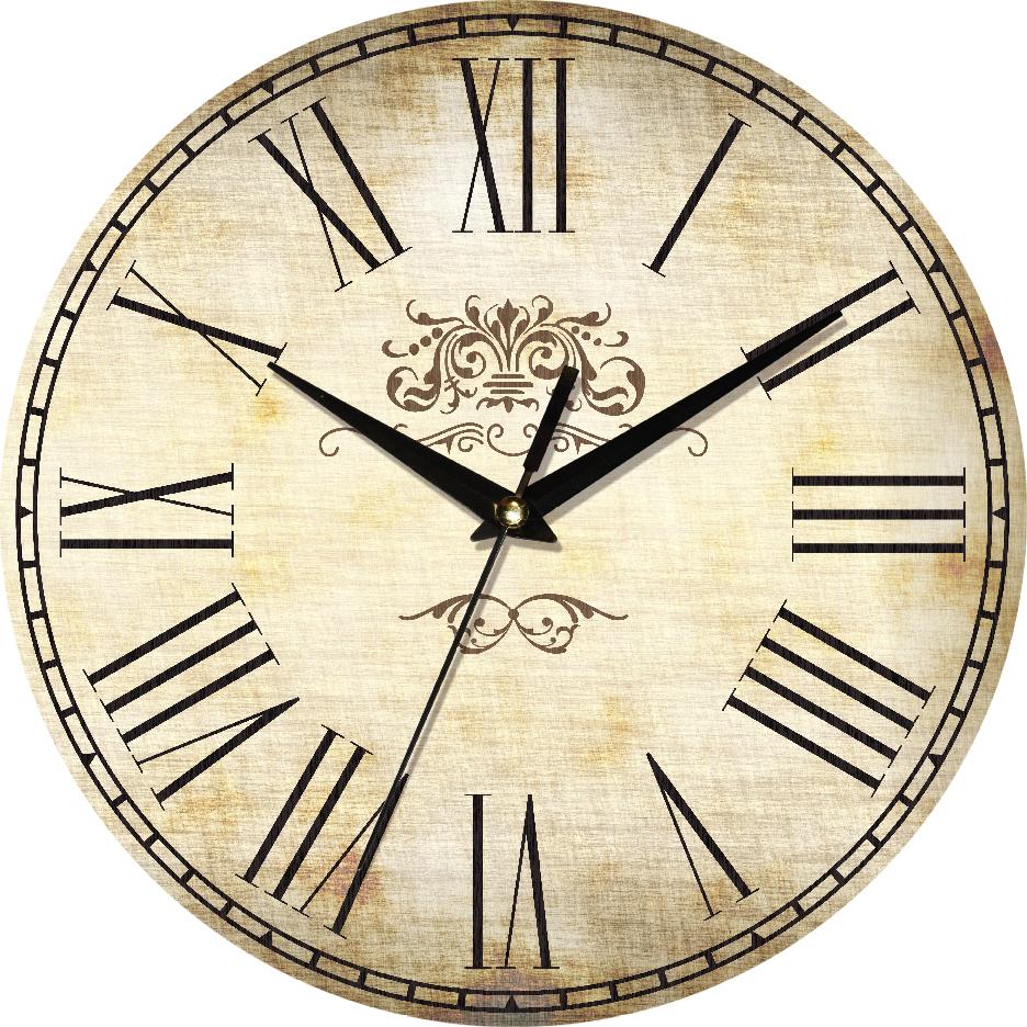 Часы настенные ЮТА Country 301x301x30мм С03