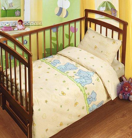 Постельное белье в кроватку Нежность