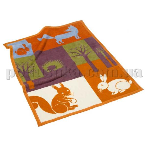 Плед детский Bocasa Tiere des Waldes 608703